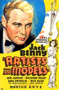 Artists and Models - 11 x 17 Movie Poster - Style B