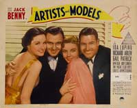 Artists and Models - 11 x 14 Movie Poster - Style B