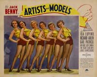 Artists and Models - 11 x 14 Movie Poster - Style C