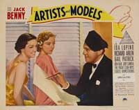 Artists and Models - 11 x 14 Movie Poster - Style E