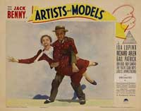 Artists and Models - 11 x 14 Movie Poster - Style F