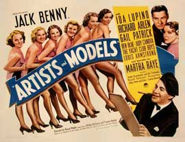 Artists and Models - 11 x 14 Movie Poster - Style A