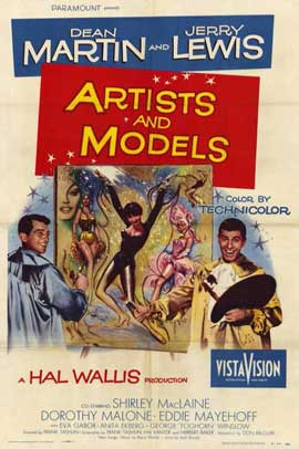 Artists and Models - 11 x 17 Movie Poster - Style A