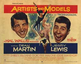 Artists and Models - 22 x 28 Movie Poster - Half Sheet Style A