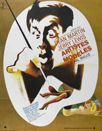 Artists and Models - 11 x 17 Movie Poster - French Style A