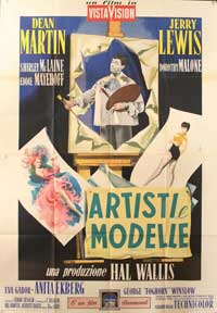 Artists and Models - 11 x 17 Movie Poster - Italian Style A