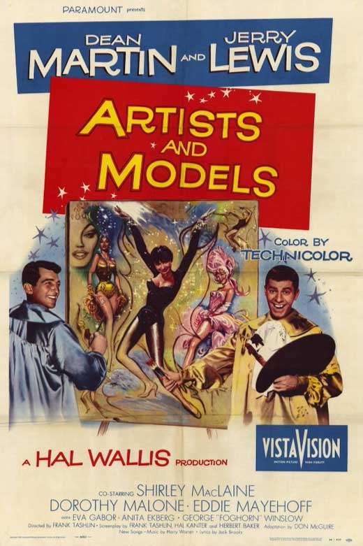 Artists and Models movie
