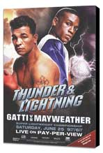 Arturo Gatti vs. Floyd Mayweather - 11 x 17 Boxing Promo Poster - Style A - Museum Wrapped Canvas