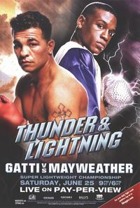Arturo Gatti vs. Floyd Mayweather - Boxing Poster - Style A - 27 x 40 (approx.)