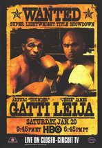Arturo Gatti Vs James Leija - 11 x 17 Boxing Promo Poster - Style A