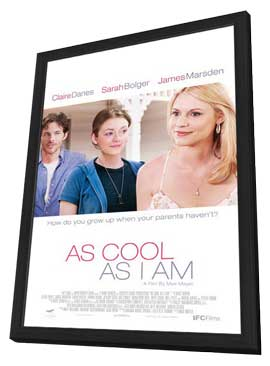 As Cool As I Am - 27 x 40 Movie Poster - Style A - in Deluxe Wood Frame