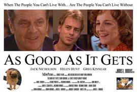 As Good As It Gets - 11 x 17 Movie Poster - Style D