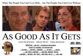 As Good As It Gets - 27 x 40 Movie Poster - Style C