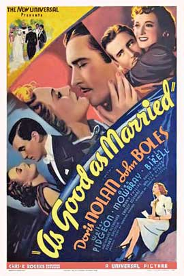 As Good as Married - 11 x 17 Movie Poster - Style A