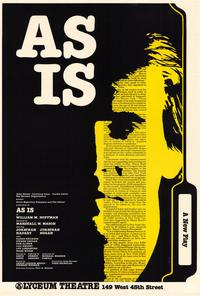 As Is (Broadway) - 27 x 40 Movie Poster - Style A