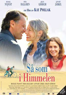 As It Is in Heaven - 11 x 17 Movie Poster - Swedish Style A