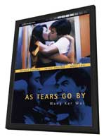 As Tears Go By - 27 x 40 Movie Poster - UK Style A - in Deluxe Wood Frame