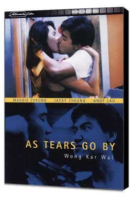 As Tears Go By - 27 x 40 Movie Poster - UK Style A - Museum Wrapped Canvas