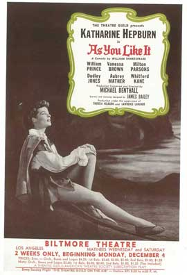 As You Like It (Broadway) - 14 x 22 Poster - Style A
