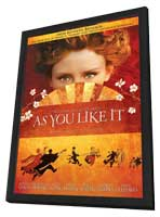 As You Like It - 11 x 17 Movie Poster - Style B - in Deluxe Wood Frame