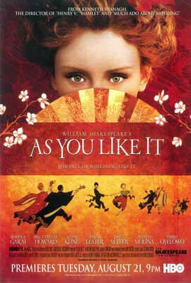 As You Like It - 11 x 17 Movie Poster - Style A