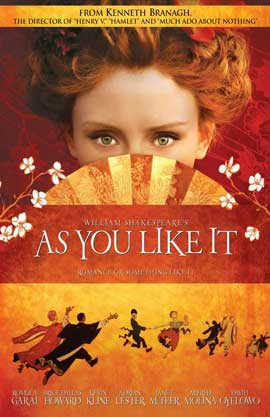 As You Like It - 11 x 17 Movie Poster - Style B