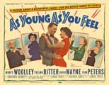 As Young as You Feel - 11 x 14 Movie Poster - Style B