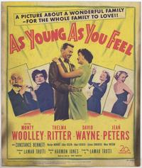 As Young as You Feel - 27 x 40 Movie Poster - Style A