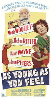 As Young as You Feel - 11 x 17 Movie Poster - Style C