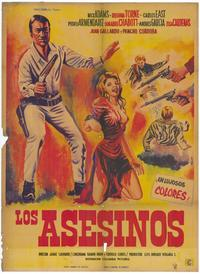 Asesinos, Los - 27 x 40 Movie Poster - Spanish Style A