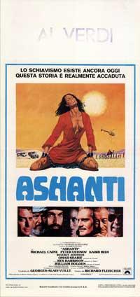 Ashanti - 13 x 28 Movie Poster - Italian Style A