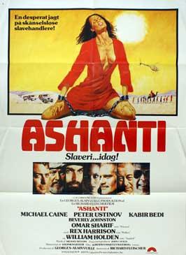 Ashanti - 27 x 40 Movie Poster - Danish Style A