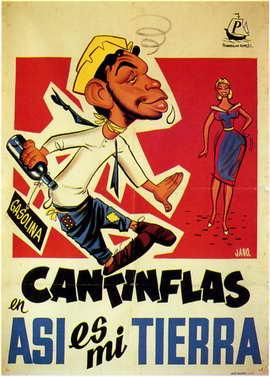 Asi es mi Tierra - 11 x 17 Movie Poster - Spanish Style A