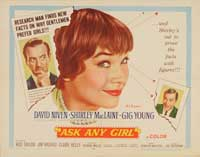 Ask Any Girl - 43 x 62 Movie Poster - Bus Shelter Style A