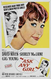 Ask Any Girl - 43 x 62 Movie Poster - Bus Shelter Style B