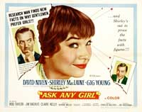 Ask Any Girl - 22 x 28 Movie Poster - UK Style A