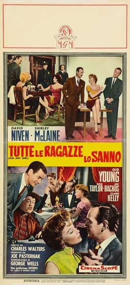 Ask Any Girl - 20 x 40 Movie Poster - Italian Style A