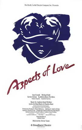 Aspects of Love, Aspects of Love (Broadway) - 11 x 17 Poster - Style A