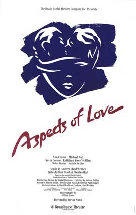 Aspects of Love, Aspects of Love (Broadway) - 27 x 40 Poster - Style A