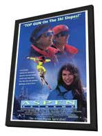 Aspen Extreme - 27 x 40 Movie Poster - Style A - in Deluxe Wood Frame