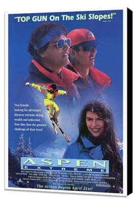 Aspen Extreme - 27 x 40 Movie Poster - Style A - Museum Wrapped Canvas