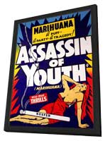 Assassin of Youth - 11 x 17 Movie Poster - Style A - in Deluxe Wood Frame