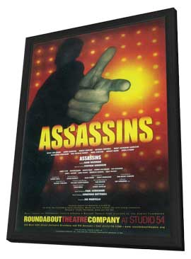 Assassins (Broadway) - 11 x 17 Poster - Style A - in Deluxe Wood Frame