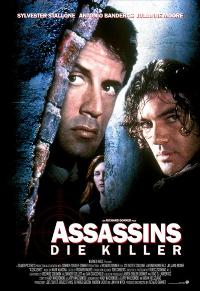 Assassins - 11 x 17 Movie Poster - German Style B
