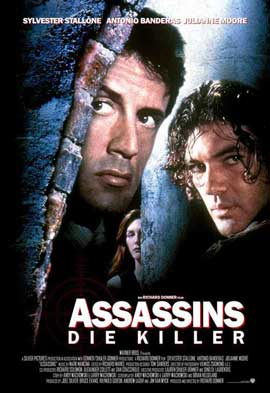 Assassins - 27 x 40 Movie Poster - German Style A