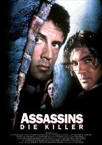 Assassins - 43 x 62 Movie Poster - German Style A