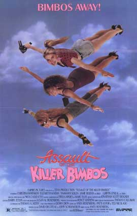 Assault of the Killer Bimbos - 11 x 17 Movie Poster - Style A