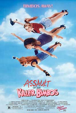 Assault of the Killer Bimbos - 27 x 40 Movie Poster - Style B