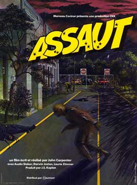 Assault on Precinct 13 - 11 x 17 Poster - Foreign - Style A