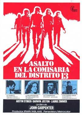 Assault on Precinct 13 - 11 x 17 Movie Poster - Spanish Style A